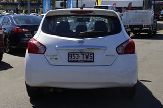 2013 Nissan Pulsar C12 ST-S White 1 Speed Constant Variable Hatchback