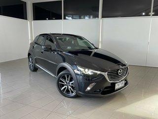 2017 Mazda CX-3 DK4W7A Akari SKYACTIV-Drive i-ACTIV AWD Black 6 Speed Sports Automatic Wagon.