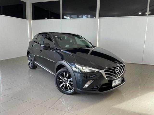 Used Mazda CX-3 DK4W7A Akari SKYACTIV-Drive i-ACTIV AWD Deer Park, 2017 Mazda CX-3 DK4W7A Akari SKYACTIV-Drive i-ACTIV AWD Black 6 Speed Sports Automatic Wagon