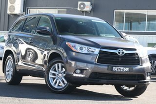 2014 Toyota Kluger GSU50R GX 2WD Grey 6 Speed Sports Automatic Wagon.