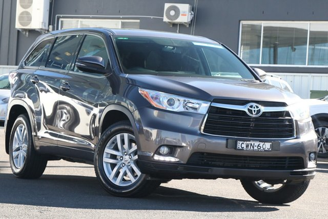 Pre-Owned Toyota Kluger GSU50R GX 2WD Brookvale, 2014 Toyota Kluger GSU50R GX 2WD Grey 6 Speed Sports Automatic Wagon