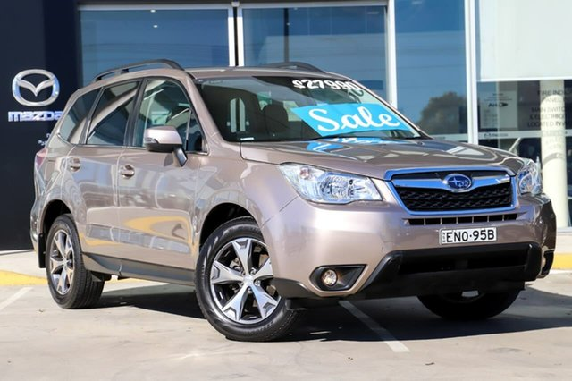 Used Subaru Forester S4 MY15 2.5i-L CVT AWD Special Edition Kirrawee, 2015 Subaru Forester S4 MY15 2.5i-L CVT AWD Special Edition Gold 6 Speed Constant Variable Wagon