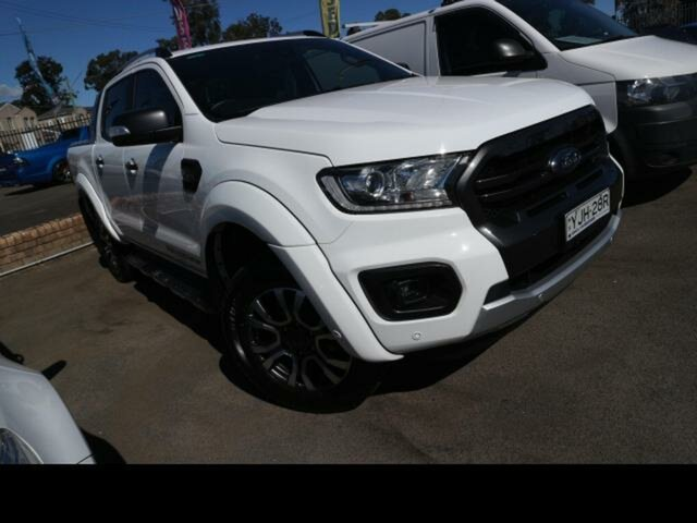 Used Ford Ranger Kingswood, Ford 2019.75 DOUBLE PU WILDTRAK . 2.0L BIT 10 4X4