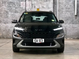 2020 Hyundai Kona Os.v4 MY21 2WD Black 8 Speed Constant Variable Wagon.