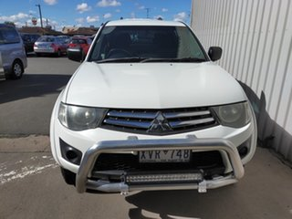 2010 Mitsubishi Triton MN MY11 GL-R Double Cab 4 Speed Automatic Utility.