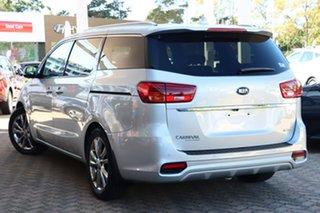 2019 Kia Carnival YP PE MY20 Platinum Silky Silver 8 Speed Automatic Wagon.
