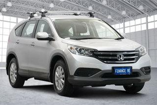 2013 Honda CR-V RM MY14 VTi Silver 5 Speed Automatic Wagon.