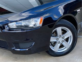 2009 Mitsubishi Lancer CJ MY09 ES Black 6 Speed Constant Variable Sedan