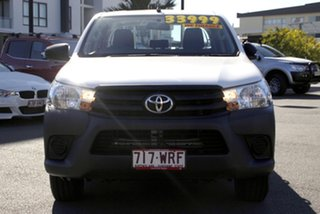 2016 Toyota Hilux TGN121R Workmate Double Cab 4x2 White 6 Speed Sports Automatic Utility