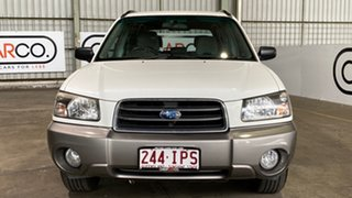 2005 Subaru Forester 79V MY05 XS AWD White 4 Speed Automatic Wagon