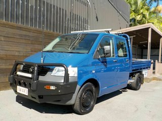 2009 Volkswagen Transporter T5 MY09 4MOTION Blue 6 Speed Manual Cab Chassis
