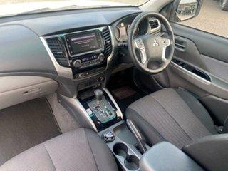 2017 Mitsubishi Triton MQ MY17 GLS Double Cab Sports Edition White Solid 5 Speed Sports Automatic