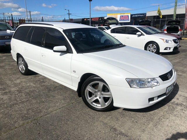 Used Holden Commodore VY Acclaim Derwent Park, 2002 Holden Commodore VY Acclaim Heron White 4 Speed Automatic Wagon