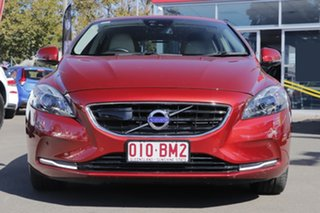 2014 Volvo V40 M Series MY14 T4 Adap Geartronic Luxury Red 6 Speed Sports Automatic Hatchback