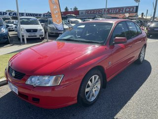 2004 Holden Commodore VY II Silver Anniversary Red 4 Speed Automatic Sedan.