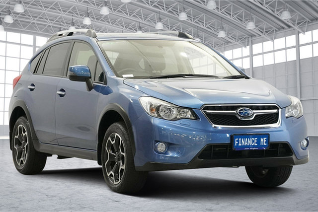 Used Subaru XV G4X MY14 2.0i-S Lineartronic AWD Victoria Park, 2014 Subaru XV G4X MY14 2.0i-S Lineartronic AWD Quartz Blue 6 Speed Constant Variable Wagon