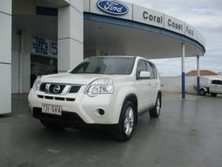 2012 Nissan X-Trail T31 MY11 ST (4x4) White 6 Speed CVT Auto Sequential Wagon.
