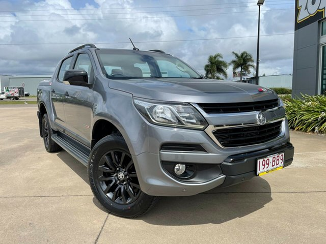 Used Holden Colorado RG MY16 Z71 Crew Cab Townsville, 2016 Holden Colorado RG MY16 Z71 Crew Cab Grey/040117 6 Speed Sports Automatic Utility