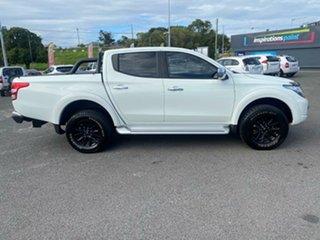 2017 Mitsubishi Triton MQ MY17 GLS Double Cab Sports Edition White Solid 5 Speed Sports Automatic.