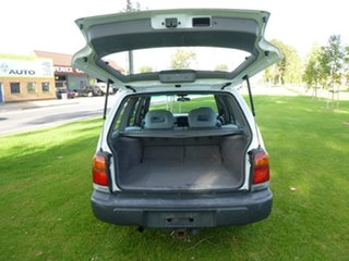 2000 Subaru Forester 79V GX White Manual Wagon