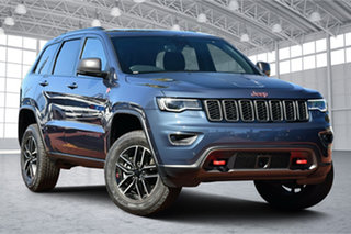 2020 Jeep Grand Cherokee WK MY20 Trailhawk Slate Blue 8 Speed Sports Automatic Wagon.