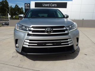 2019 Toyota Kluger GSU55R GX AWD Silver Pearl 8 Speed Sports Automatic Wagon.