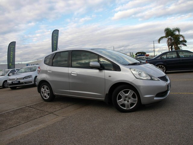 Used Honda Jazz GE MY09 GLi Cheltenham, 2009 Honda Jazz GE MY09 GLi Silver 5 Speed Automatic Hatchback