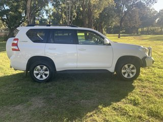 2016 Toyota Landcruiser Prado GDJ150R GXL White 6 Speed Sports Automatic Wagon