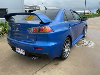 2009 Mitsubishi Lancer CJ MY10 Evolution TC-SST MR Blue/260610 6 Speed Sports Automatic Dual Clutch.