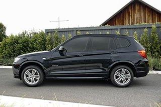 2011 BMW X3 F25 MY1011 xDrive20i Steptronic Blue 8 Speed Automatic Wagon