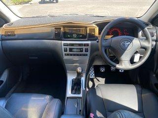 2004 Toyota Corolla ZZE123R Sportivo Silver 6 Speed Manual Hatchback