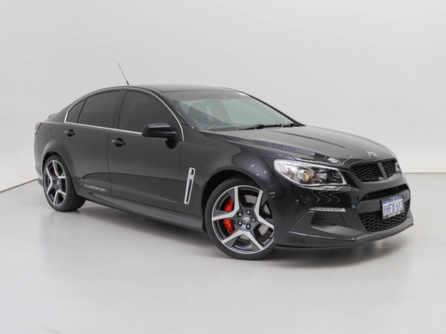 Used Holden Special Vehicles ClubSport Gen F R8, 2014 Holden Special Vehicles ClubSport Gen F R8 Black 6 Speed Auto Active Sequential Sedan