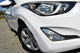 2015 Hyundai Elantra MD3 Active White 6 Speed Sports Automatic Sedan.