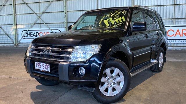 Used Mitsubishi Pajero NT MY11 30th Anniversary Rocklea, 2011 Mitsubishi Pajero NT MY11 30th Anniversary Black 5 Speed Sports Automatic Wagon
