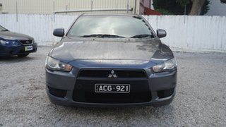 2009 Mitsubishi Lancer CJ MY10 ES Grey 6 Speed Constant Variable Sedan