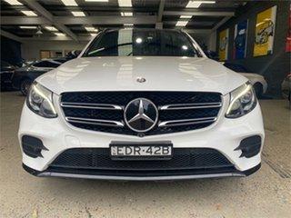 2016 Mercedes-Benz GLC-Class X253 GLC250 d White Sports Automatic Wagon.