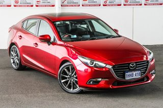 2018 Mazda 3 BN5238 SP25 SKYACTIV-Drive GT Red 6 Speed Sports Automatic Sedan.
