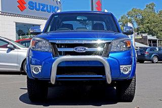 2010 Ford Ranger PK Wildtrak Crew Cab Blue 5 Speed Manual Utility.