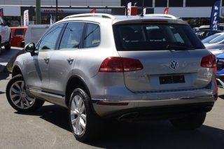 2016 Volkswagen Touareg 7P MY16 V6 TDI Tiptronic 4MOTION Silver 8 Speed Sports Automatic Wagon.