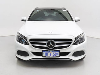 2014 Mercedes-Benz C250 205 BlueTEC White 7 Speed Automatic Wagon.