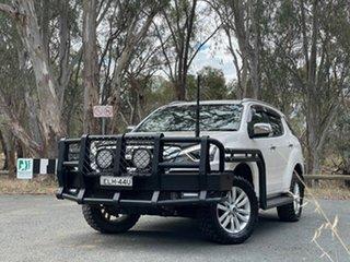 2018 Isuzu MU-X MY18 LS-T Rev-Tronic White 6 Speed Sports Automatic Wagon.