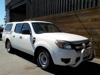 2010 Ford Ranger PK XL Crew Cab 4x2 White 5 Speed Automatic Utility.