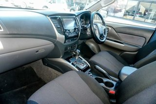 2018 Mitsubishi Triton MQ MY18 Blackline Double Cab Grey 5 Speed Sports Automatic Utility