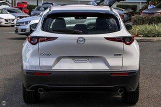 2021 Mazda CX-30 DM2W7A G20 SKYACTIV-Drive Touring White 6 Speed Sports Automatic Wagon.