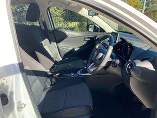 2017 Mazda 2 DJ2HA6 Genki SKYACTIV-MT White 6 Speed Manual Hatchback