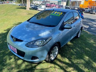 2008 Mazda 2 DE10Y1 Genki Blue 5 Speed Manual Hatchback.