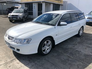 2002 Holden Commodore VY Acclaim Heron White 4 Speed Automatic Wagon