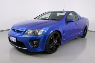 2009 Holden Special Vehicles Maloo E Series MY08 Upgrade R8 Blue 6 Speed Automatic Utility.