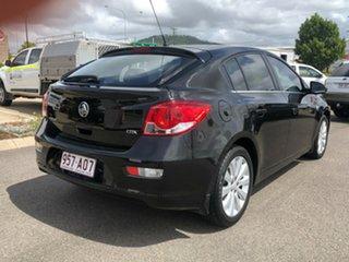 2012 Holden Cruze JH Series II MY12 CDX Black 6 Speed Sports Automatic Hatchback