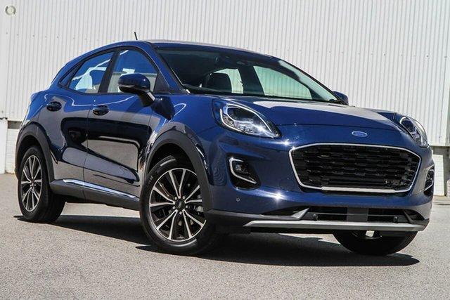 New Ford Puma JK 2021.25MY Puma Oakleigh, 2021 Ford Puma JK 2021.25MY Puma Blue 7 Speed Sports Automatic Dual Clutch Wagon